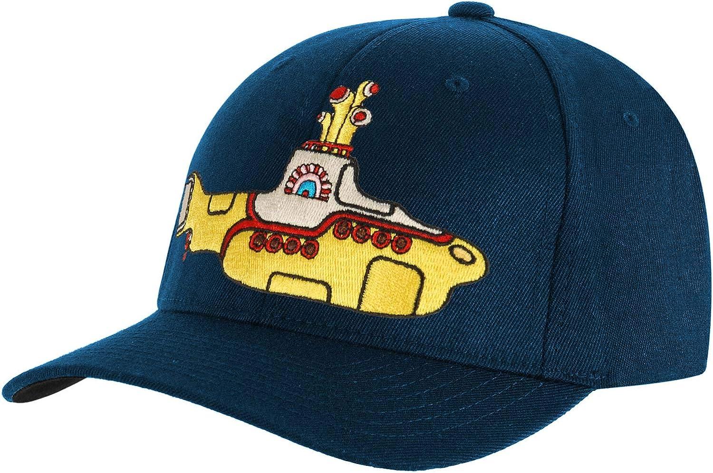 tHE bEATLES yellow sub logo baseball cap