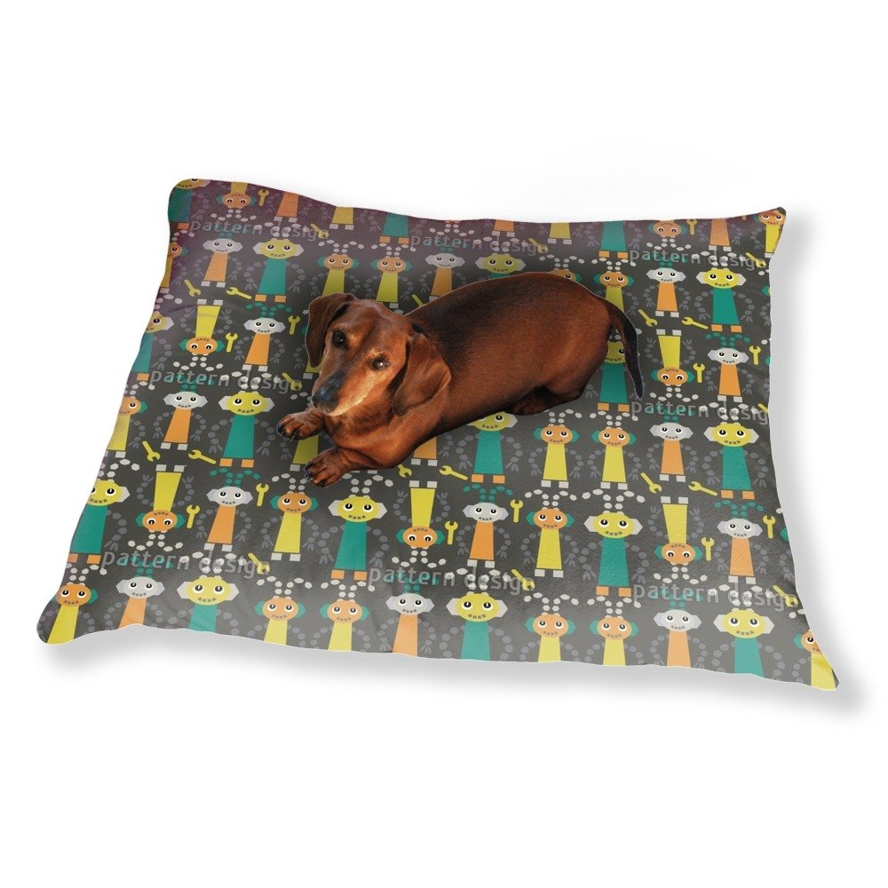Sweet Robots Dog Pillow Luxury Dog / Cat Pet Bed