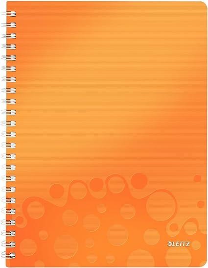 PP LEITZ Ablagebox WOW DIN A4 orange-metallic