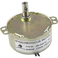 CHANCS Motor de Engranajes pequeños de CA 220V