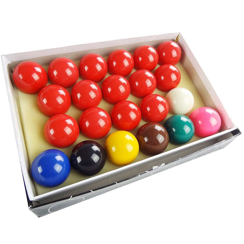 Pool Balls Set 2-1//16 Snooker Balls Complete Set 22 Balls Billiard Game Accessory