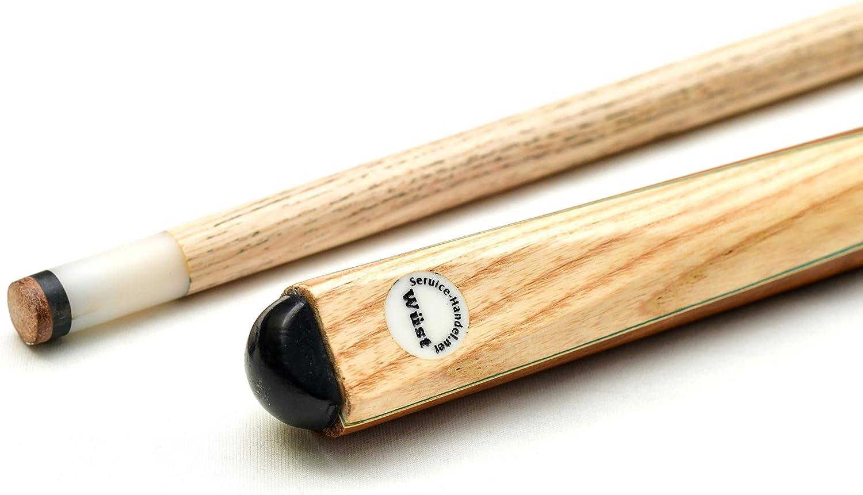 Snooker und Carambolage store HD 2-teiliger Billard Queue aus edlem Holz Hochwertiger Zweiteiliger Billard K/ö f/ür Pool 147 cm Langer Billiard Queue f/ür Kinder und Erwachsene