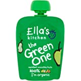 Ellas Kitchen The Green One Organic Smoothie Fruits 90 g (Pack of 12)