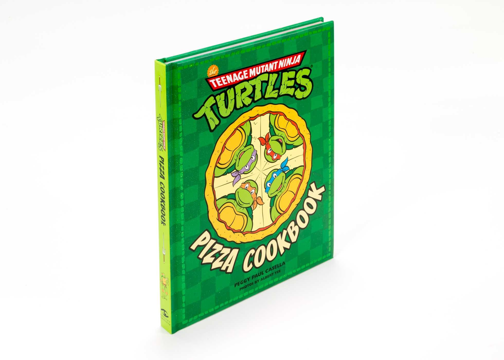 The Teenage Mutant Ninja Turtles Pizza Cookbook: Peggy Paul ...
