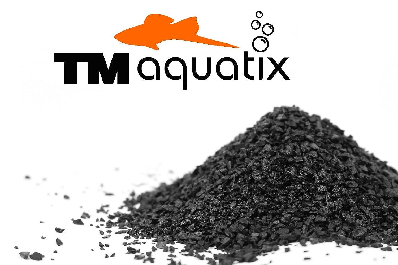 10 KG NATURAL BLACK AQUARIUM SUBSTRATE(SAND - GRAVEL 1-3mm) IDEAL FOR PLANTS TM Aquatix