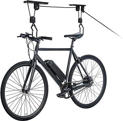Shed Garage Storage Hoist Pulley System for Bikes Surfboards Ladders etc