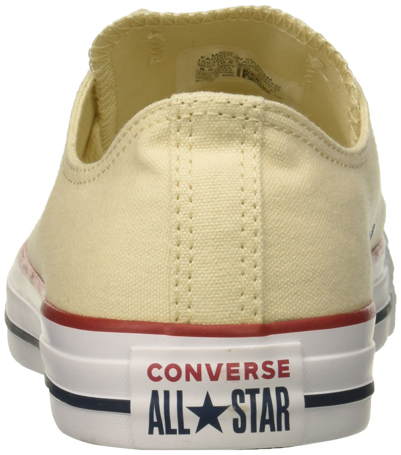 Converse Chuck Taylor All Star Low Top Sneaker, Natural Ivory, 11 M US by Converse (Image #2)