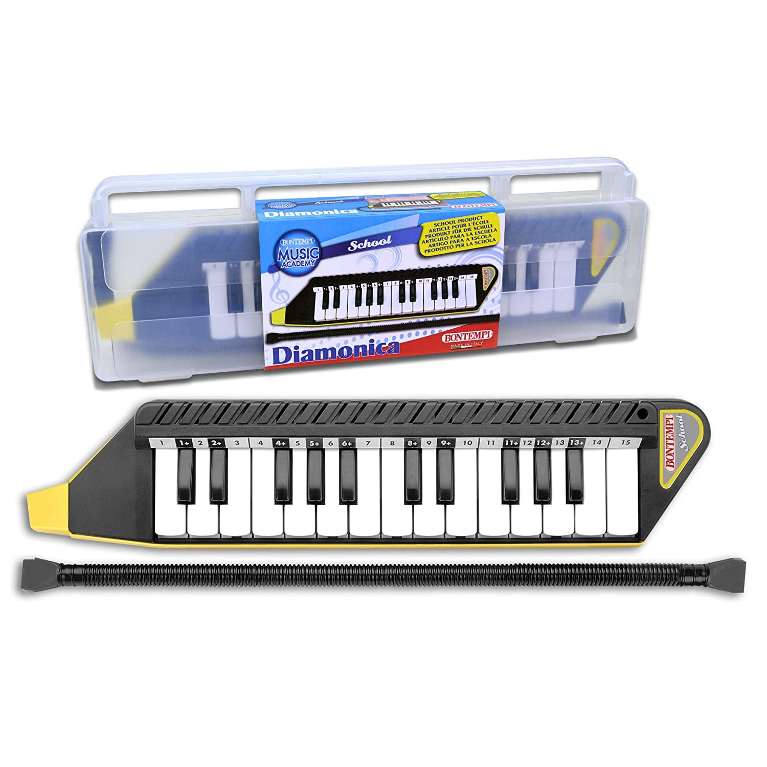 Bontempi/ 334262/Cover /33/ /4262/Keyboard with 25/Keys with White Black