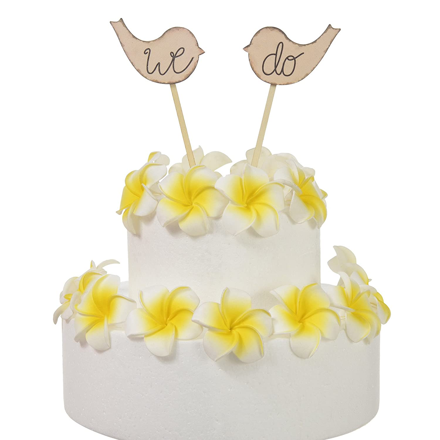 Amazon.com: AW Cake Topper Love Birds with \