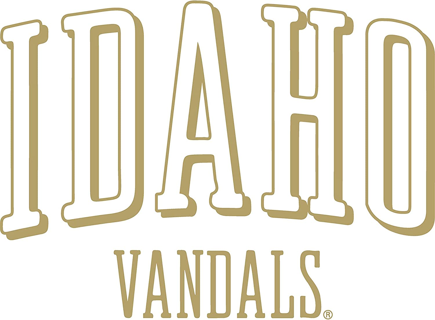 Official NCAA University of Idaho Vandals RYLID06 Mens//Womens Boyfriend Long Sleeve Tee
