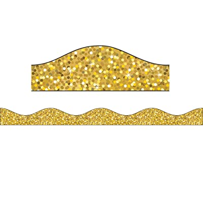 Ashley Productions Sparkle Big Magnetic Border, Gold: Toys & Games