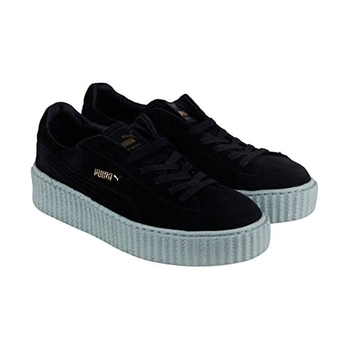 competitive price 56637 9b697 Rihanna Fenty Puma the Creeper Platform Navy Baby Blue Suede ...
