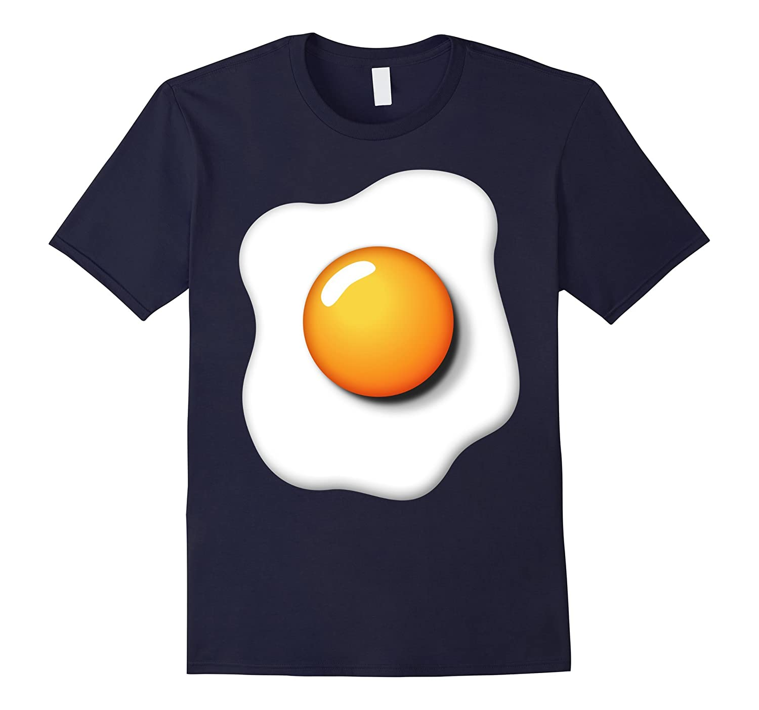 Funny Fried Egg Shirt DIY Halloween Costume Ideas Egg Yolk-FL