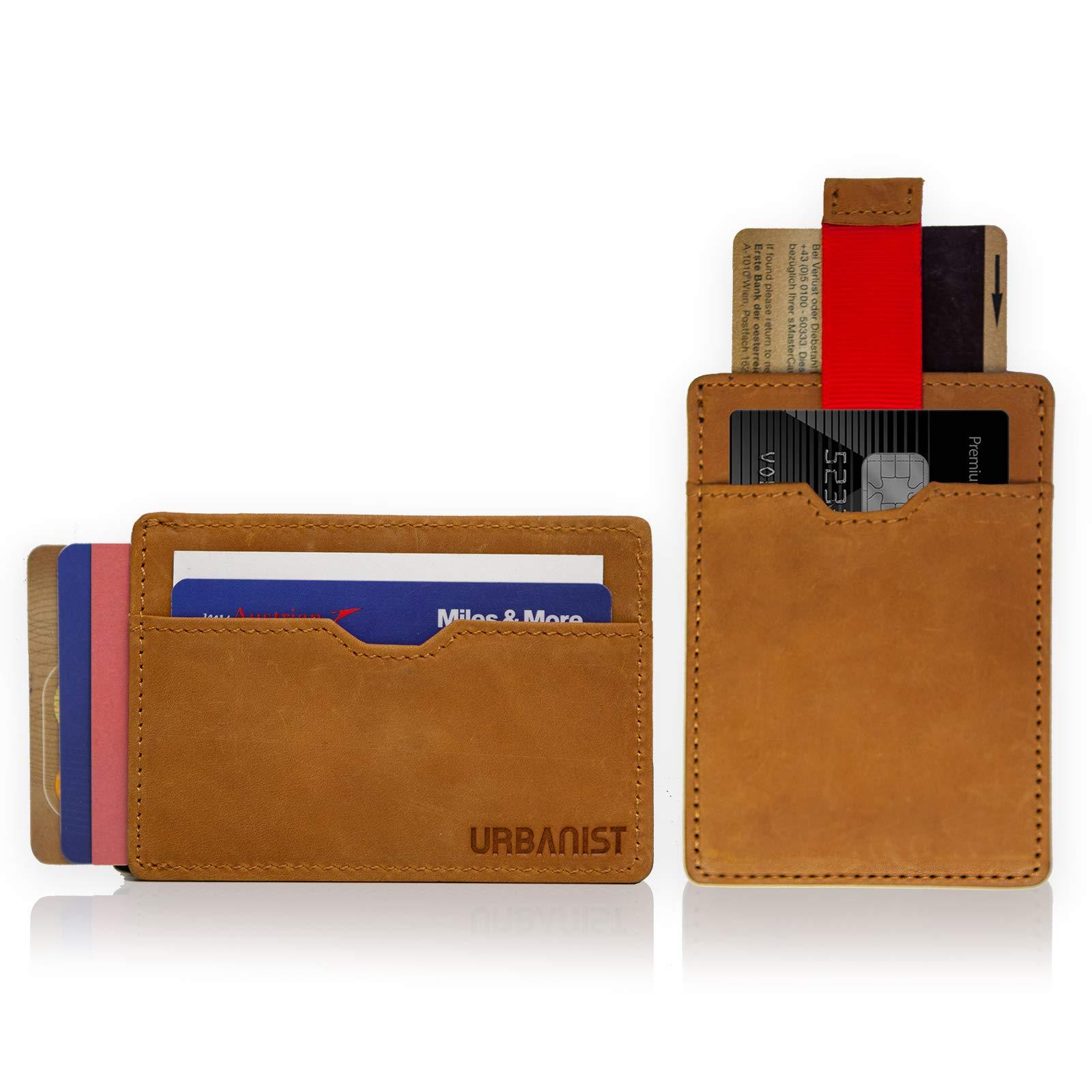 9d97f43523966c URBANIST™ Kartenetui   Die Mini-Geldbörse mit RFID Schutz   Für bis zu 14