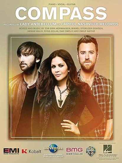 Amazon Lady Antebellum Compass Sheet Music Single Musical