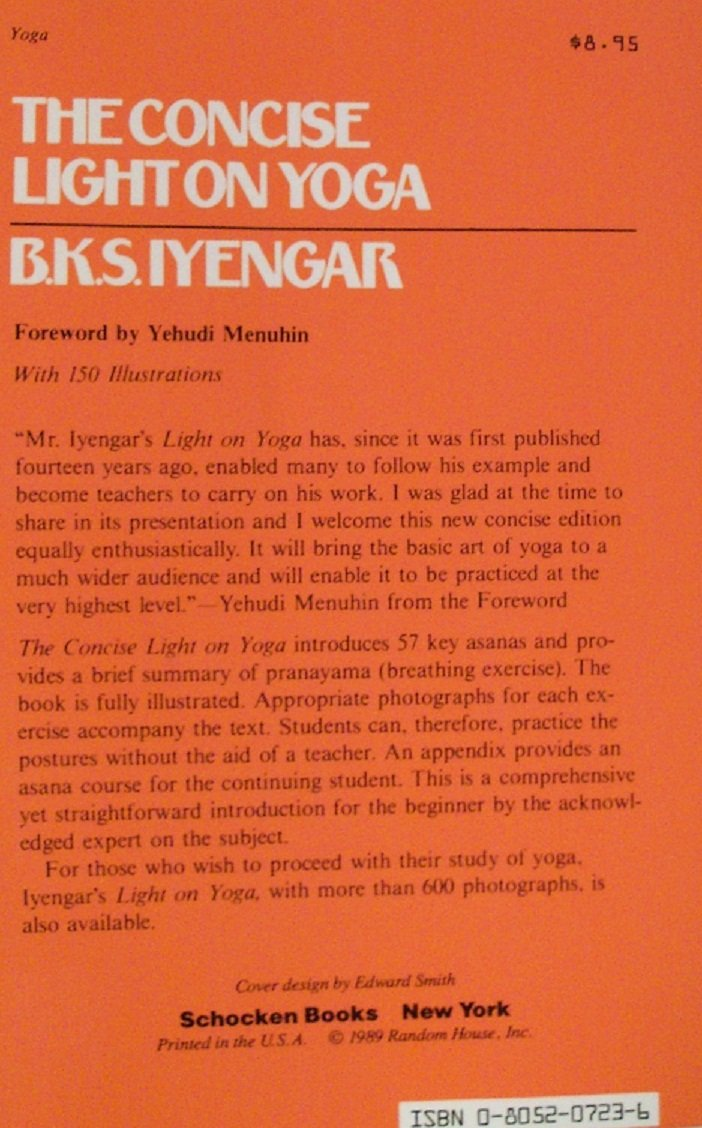 The Concise Light on Yoga: Yoga Dipika: Amazon.es: B. K. S. ...