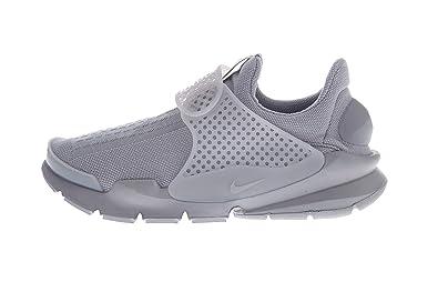 Nike Hombres de Calcetines – Running Shoe, 12 D(M) US, Blanco