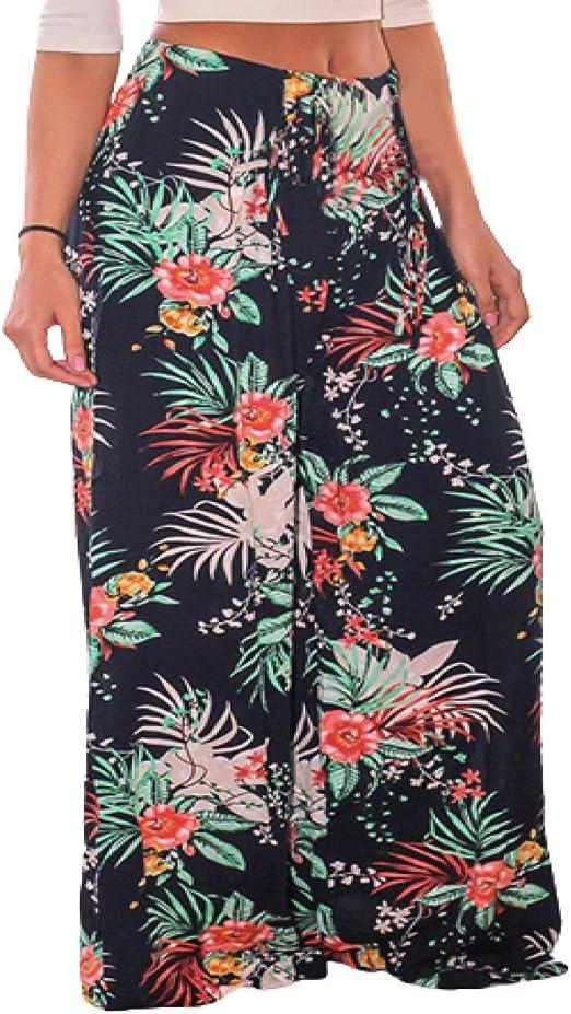 Pantalones Anchos Sueltos con Micro Plisado y Cintura Alta