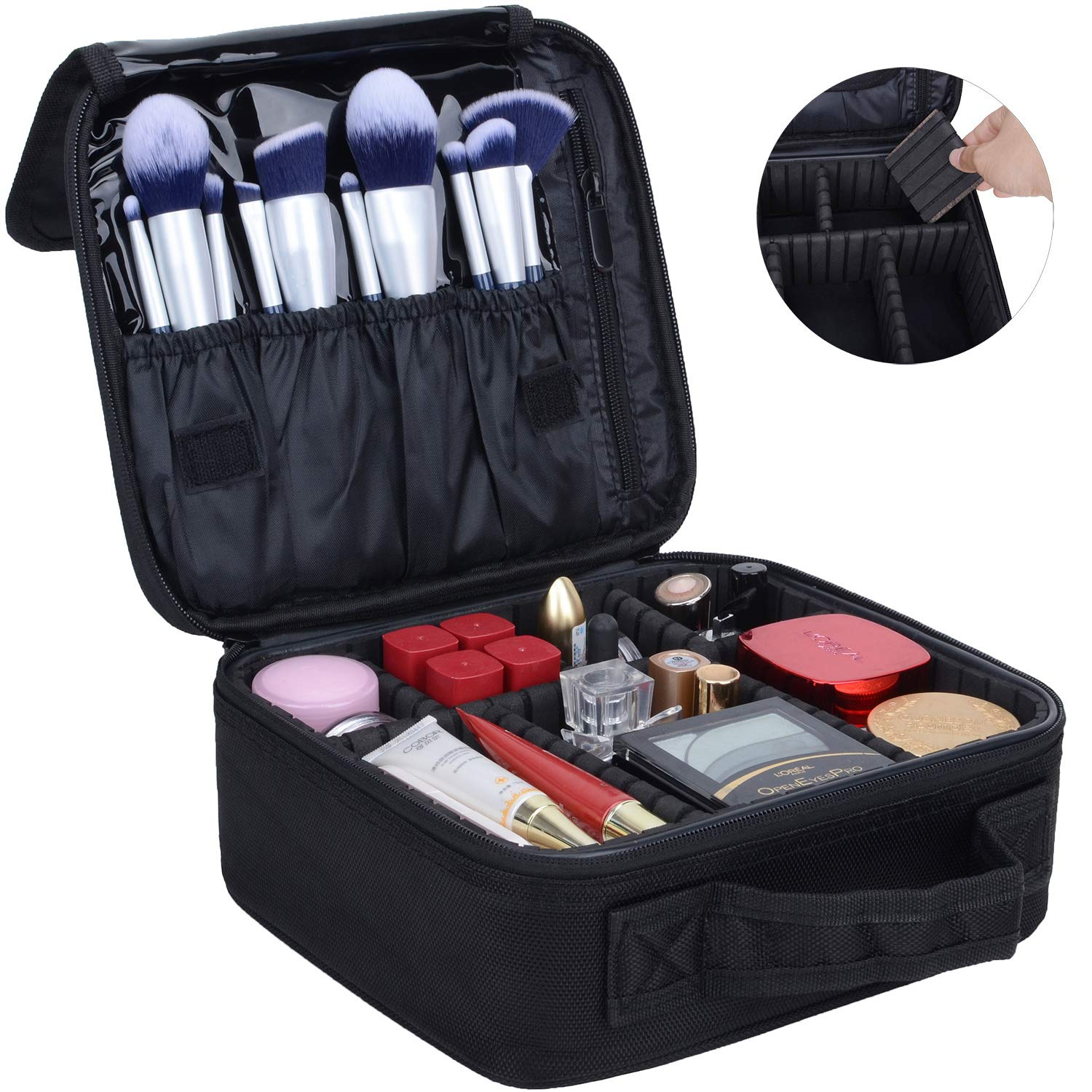 Portable Travel Makeup Cosmetic Bag Organizer Multifunction Case for Women (Color2) ¡­ MKPCW