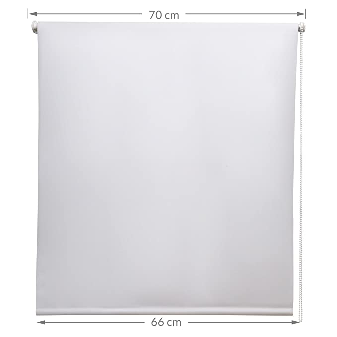 Sol Royal Sol Reflect T42 Persiana térmica Opaca Estor/Cortina Enrollable KLEMMFIX fijación fácil 70 x 160 cm Blanco: Amazon.es: Hogar