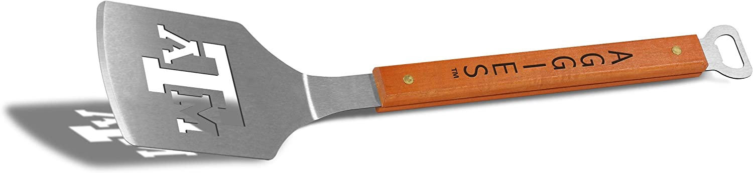 with Bottle Opener Classic Series YouTheFan NCAA 18 Stainless Steel Sportula Spatula