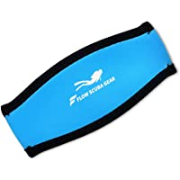 Flow Scuba Gear Neoprene Dive and Snorkel Mask Strap Cover - Available in 12 Unique Designs