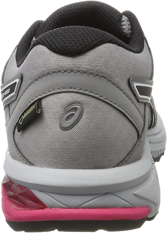 ASICS Damen Gt-1000 6 G-tx Laufschuhe, grau Grau (Mid Grey/Black/Aluminum 9690)