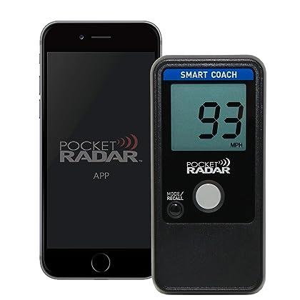 Pocket Radar Smart Coach/Bluetooth App Enabled Radar Gun for