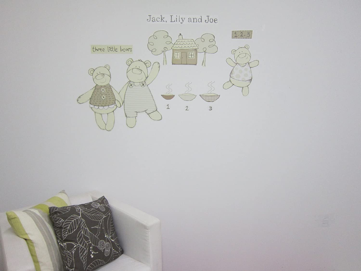 Jack Lily and Joe Fine Decor FDS1204 Wall Decals