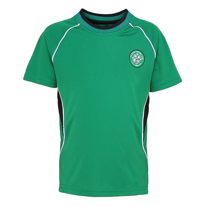 Celtic FC - Camiseta oficial del Celtic FC manga corta para niños - Fútbol /Deporte