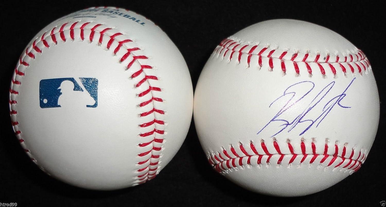 Billy Butler Signed Omlb Baseball Oakland Athletics Kansas City Royals Coa K1 Baseball-mlb Balls