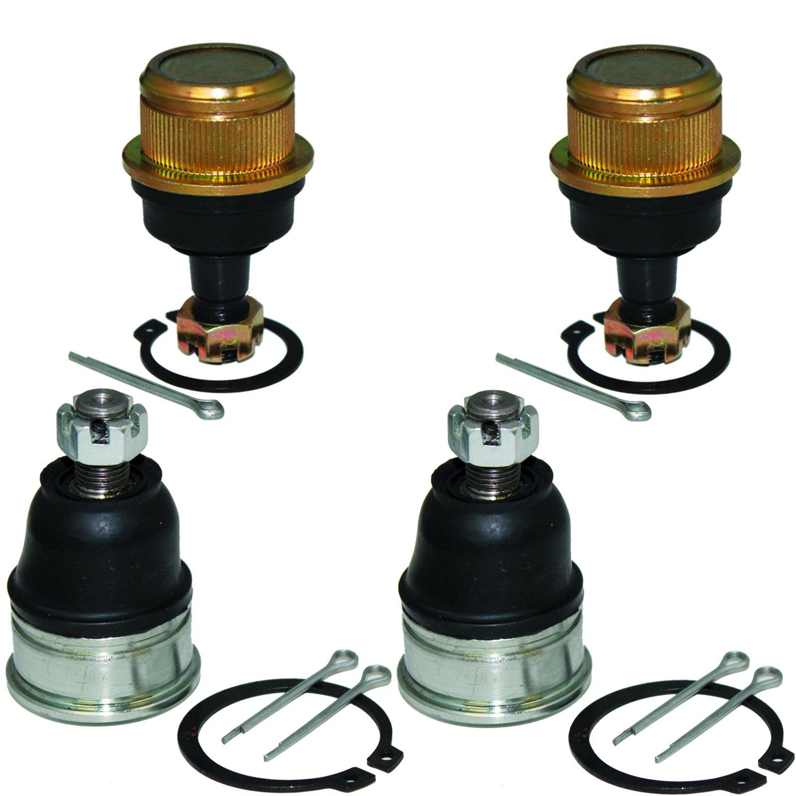 Caltric 4 UPPER & LOWER A-ARM BALL JOINT Fits HONDA TRX250EX TRX-250EX SPORTRAX 250 2001-2008
