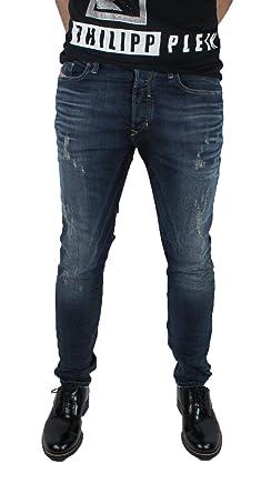 fc98fd42 Diesel Mens Tepphar 0852G Stretch Slim Carrot Jeans: Amazon.co.uk: Clothing