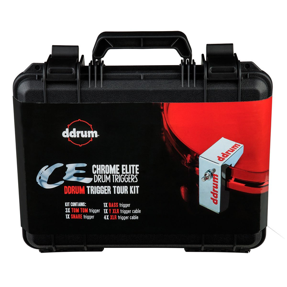 ddrum CETOURPK CE Trigger Pack with Case and Cables by Ddrum (Image #1)