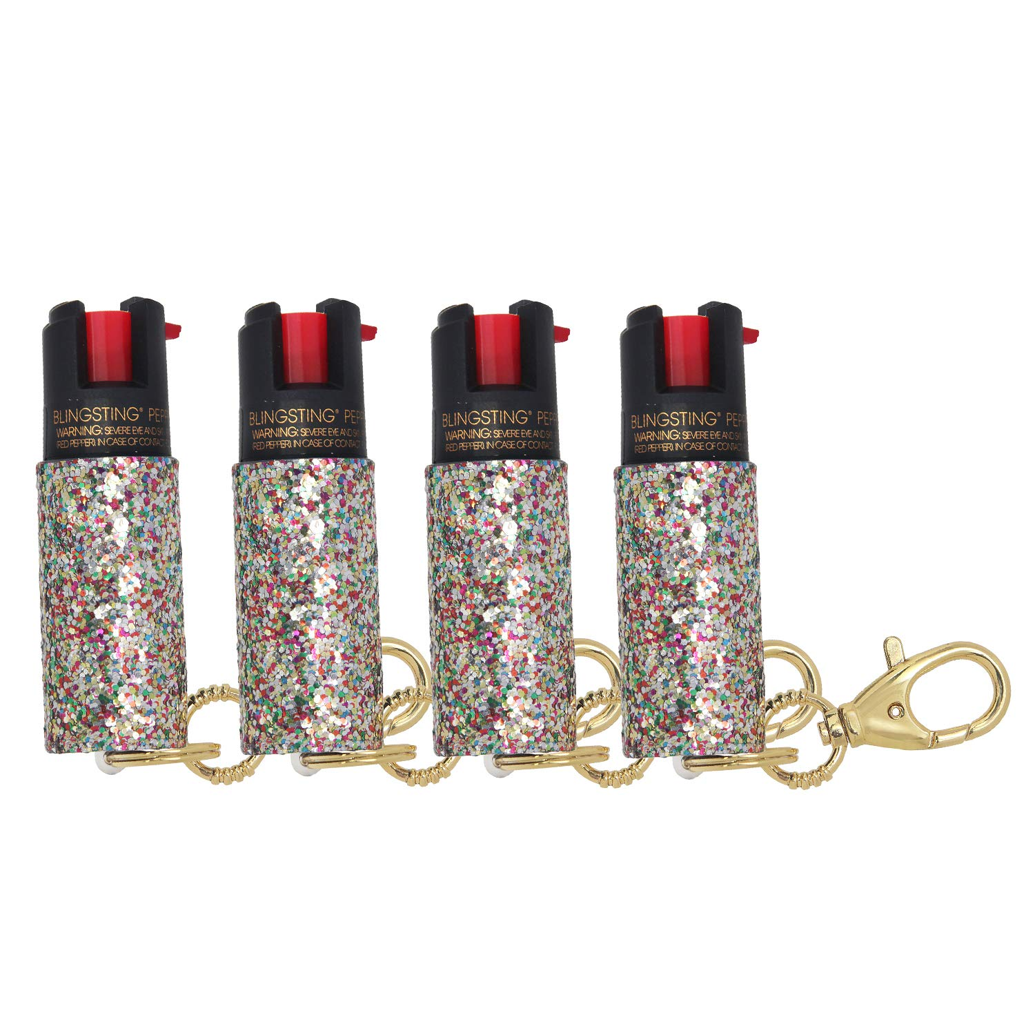 super-cute pepper spray Keychain for Women Professional Grade Maximum Strength OC Formula 1.4 Major Capsaicinoids 10-12 Ft Effective Range Accurate Stream Self-Defense Accessory Designed for Women by super-cute pepper spray
