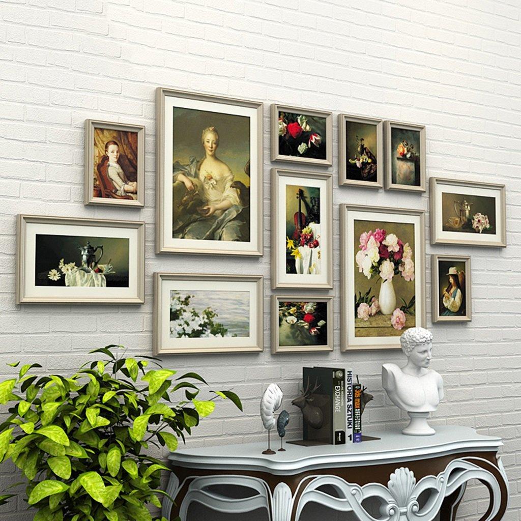 Foto Wandrahmen 12 Teile / satz DIY Bilderrahmen Sets Für Wand ...