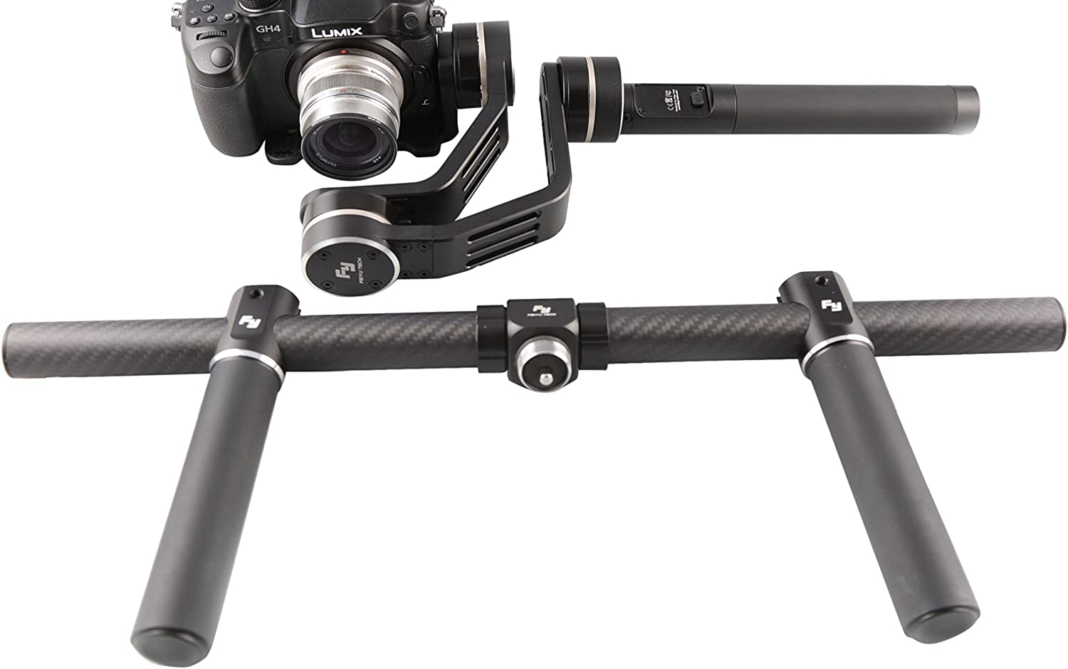 Android /& other Smartphones Feiyu Tech G4 Pro 3-Axis Handheld Stabilized Gimbal for iPhone