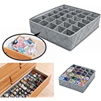 30celdas plegable sujetador ropa interior organizador caja