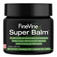 Antifungal Balm - Made in USA - Helps Treat Eczema, Ringworm, Jock Itch, Athletes Foot and Fungal Infections - Best Natural Ointment to Soothes Itchy, Scaly or Cracked Skin.