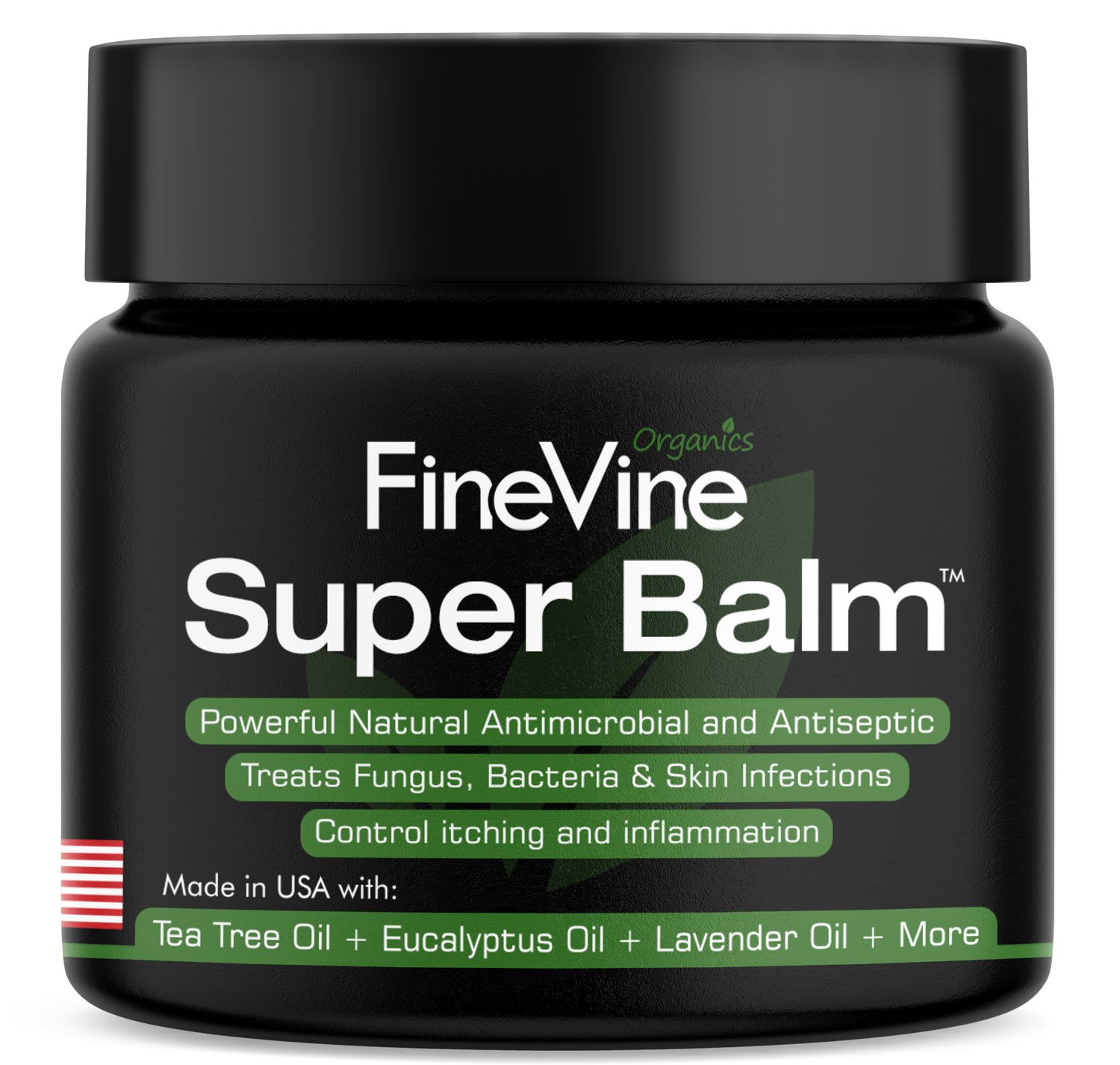 Antifungal Balm - Made in USA - Helps Treat Eczema, Ringworm, Jock Itch, Athletes Foot and Nail Fungal Infections - Best Natural Ointment to Soothes Itchy, Scaly or Cracked Skin.
