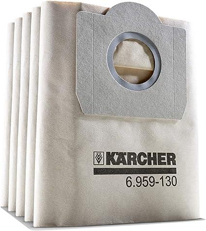5 Sacchetto per aspirapolvere adatto per KAERCHER a2200.. 2299 serie filtertueten #643s