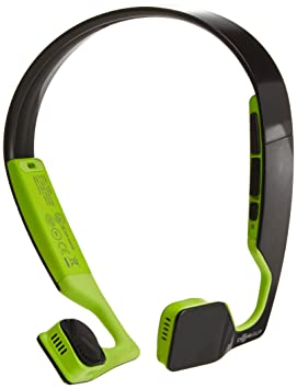Aftershokz Bluez 2S AS500N-2S Wireless Headphones (Black/Green) Audio Headphones at amazon