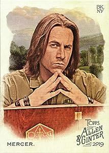 2019 Topps Allen & Ginter #160 Matthew Mercer Baseball Trading Card - Voice Actor and Dungeonmaster