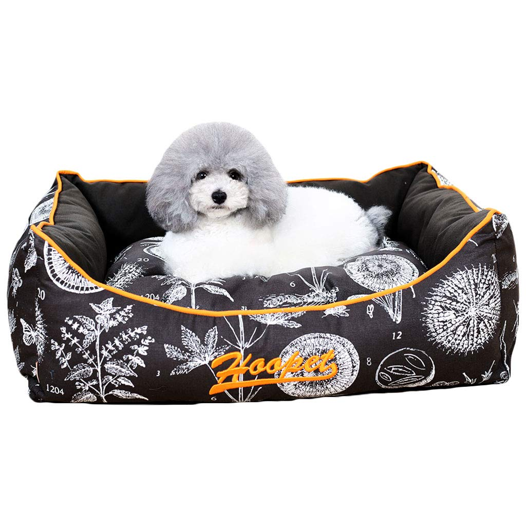 615121cm Pet Bed Washable Deluxe Plush Soft Comfy Cat Dog Bed Waterloo Removable Cushion CHENGYI (Size   61  51  21cm)