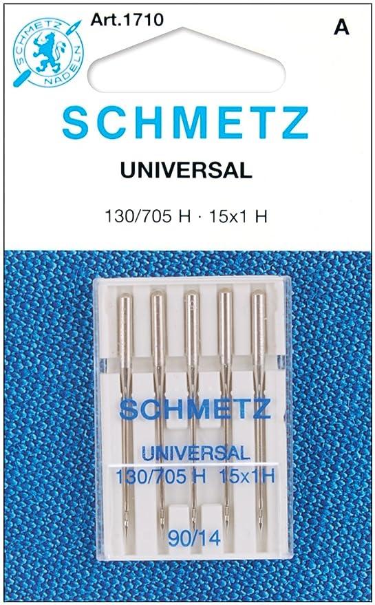 Amazon.com: Schmetz PT Máquina Agujas Universal – Tamaño 12 ...