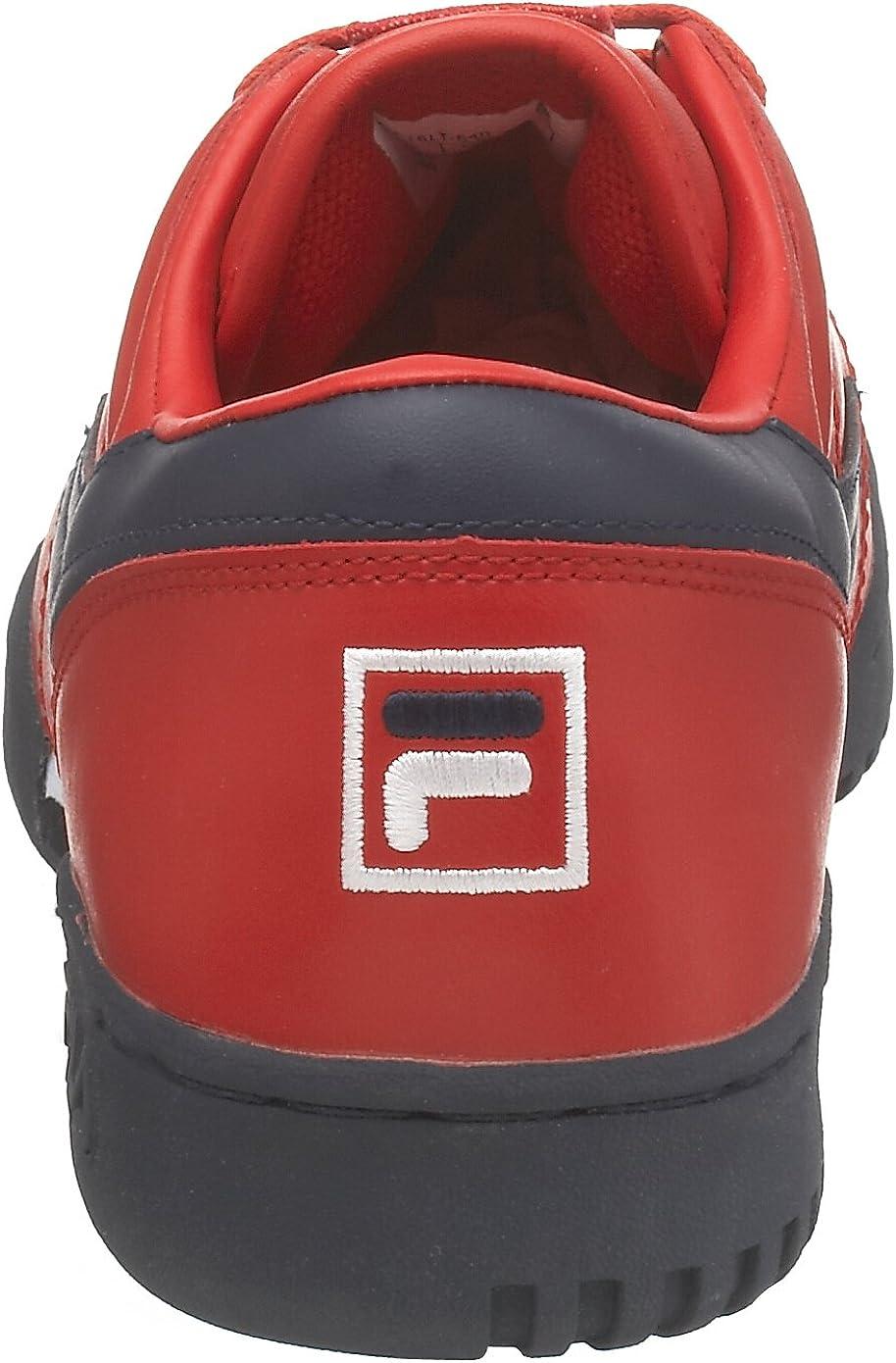 Fila Men's Original Fitness Lea Classic Sneaker Red/Navy/White