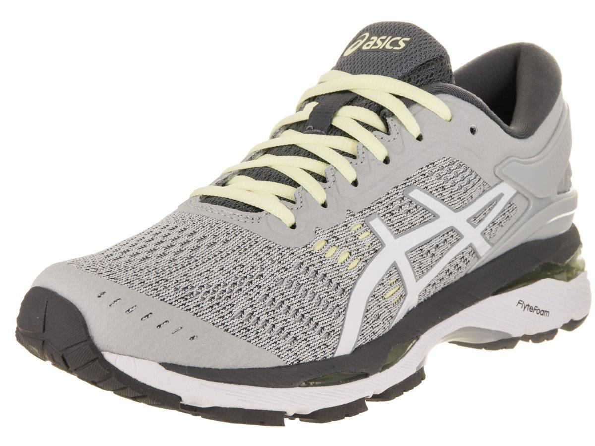 ASICS Women's Gel-Kayano 24 Running Shoe B071Z7GB3G 6 B(M) US|Glacier Grey/White/Carbon