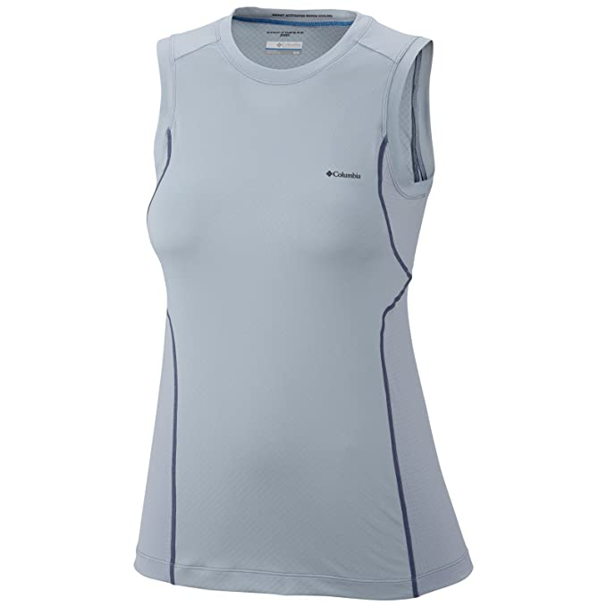 c59e2f39394 Columbia Coolest Cool Sleeveless Top Shirt at Amazon Women's Clothing store:  Athletic Shirts