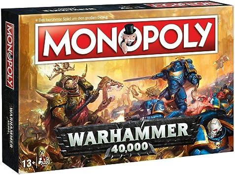 Unbekannt Warhammer 40.000-Monopoly-Alemán Versión 40k ...