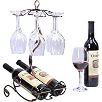 Sangyn Tabletop Freestanding Stackable Wine Glass Metal Rack
